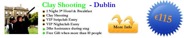 Dublin Clay Shooting 1 Night