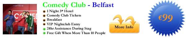 Comedy Club - Belfast