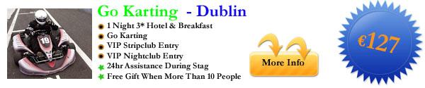 Dublin Go Karting 1 Night