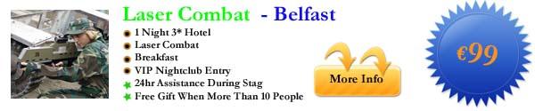 Laser Combat - Belfast