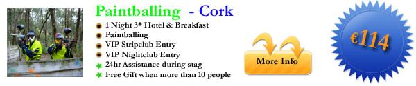 Paintballing Cork
