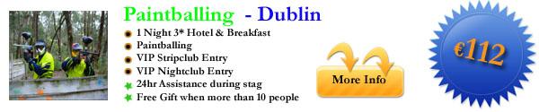 Dublin Paintballing 1 Night