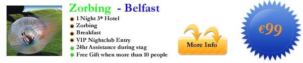 Zorbing - Belfast