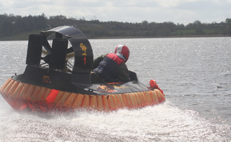 Wild Water Hovercraft Experience – Mullingar