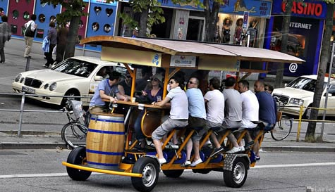 Beer Bike – Amsterdam