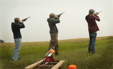 Clay Shooting – Edinburgh