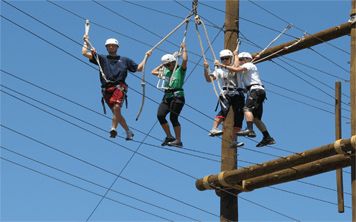 High Ropes Assault Course – Algarve