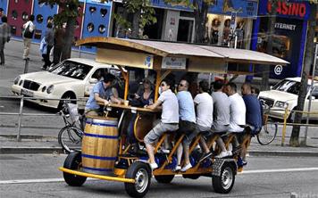Beer Bike – Madrid
