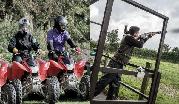 Clayshooting & Quading Combo – Sligo